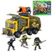Mega Bloks Teenage Mutant Ninja Turtles: Out of the Shadows Battle Truck, Not Mint