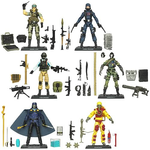 G.I. Joe Pursuit of Cobra Action Figures Wave 5 Set