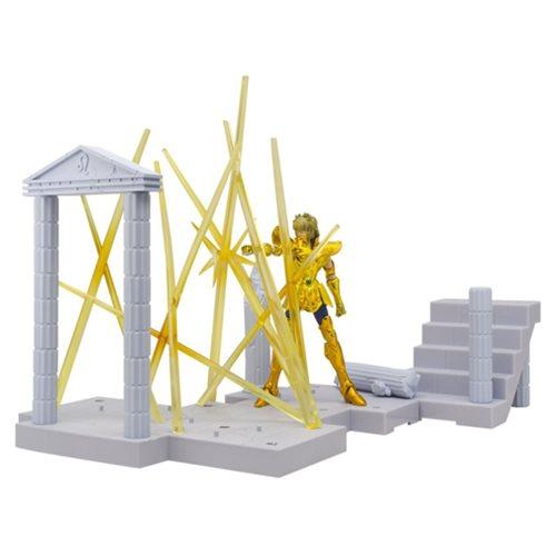 Saint Seiya Leo Aiolia's Glint Bandai D D  Panoramation Action Figure  Diorama Stand