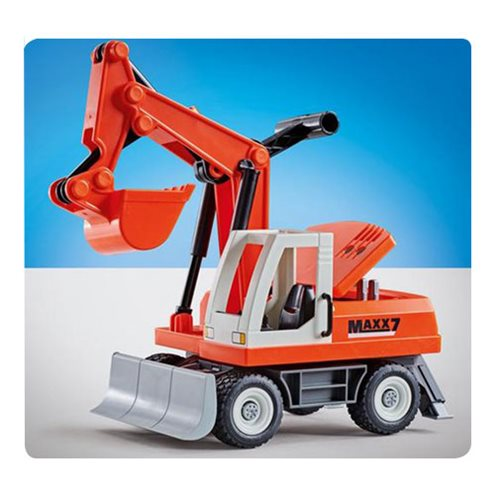 Playmobil 9800 Shovel Excavator with Clearing Blade