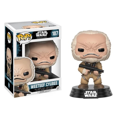 Rogue One Weeteef Cyubee Pop! Vinyl Bobble Head
