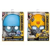 Transformers Bumblebee Movie Voice Changer Masks Wave 1 Case
