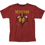 Wolverine on Red T-Shirt