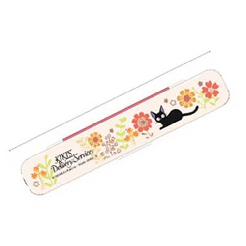 Kiki's Delivery Service Jiji and Flower 3-In-1 Utensil Set and Carrier