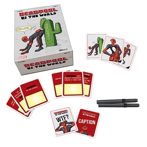 Deadpool vs The World Card Game