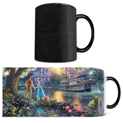 Disney Princess and the Frog Thomas Kinkade Morphing Mug