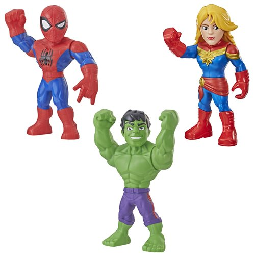 Marvel Mega Mighties Action Figures Wave 3 Case