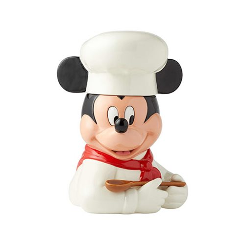Disney Mickey Mouse Chef Mickey Cookie Jar