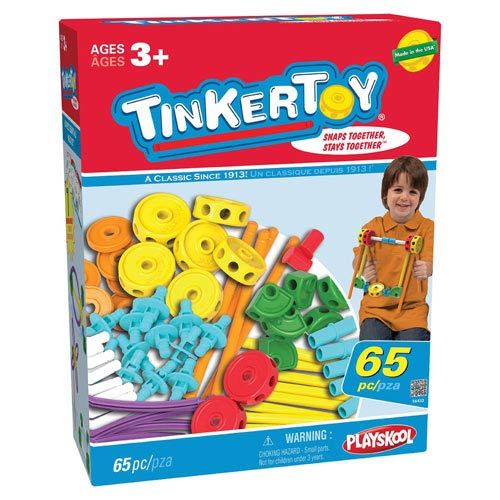 K'NEX Tinkertoy 65 Piece Essentials Value Set