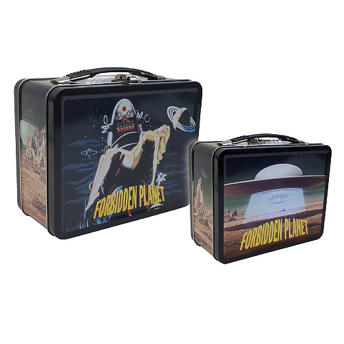 Forbidden Planet Robby The Robot Tin Tote Lunch Box