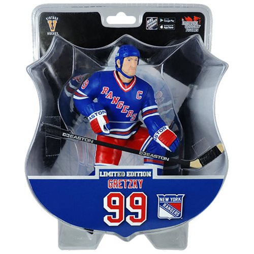 NHL New York Rangers Wayne Gretzky 6-Inch Action Figure