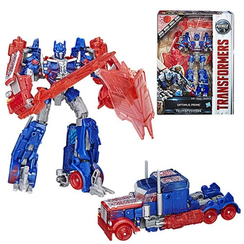 Transformers The Last Knight Premier Edition Voyager Class Reveal the Shield Optimus Prime - Toys R Us Exclusive