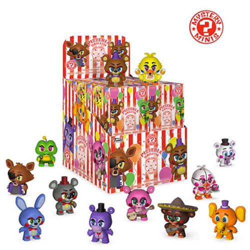 Five Nights at Freddy's Mystery Minis Display Case