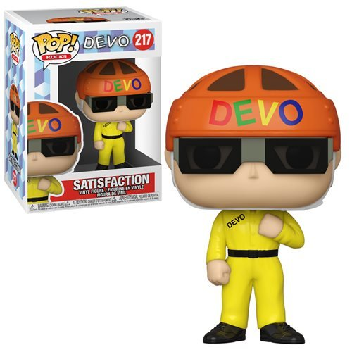 Devo Satisfaction (Yellow Suit) Pop! Vinyl Figure
