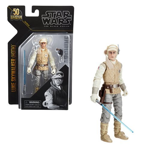 Star Wars The Black Series Luke Skywalker (Hoth) Figure