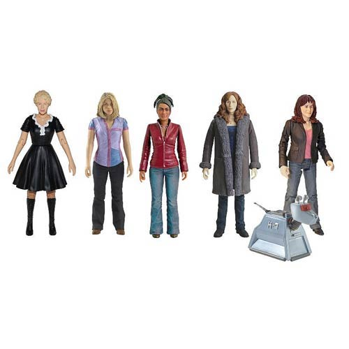 Doctor Who 5-Inch Companion Action Figure Set 5-Pack