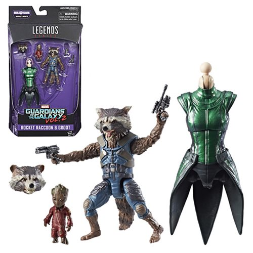 Guardians of the Galaxy Marvel Legends 6-Inch Rocket Raccoon Action Figure