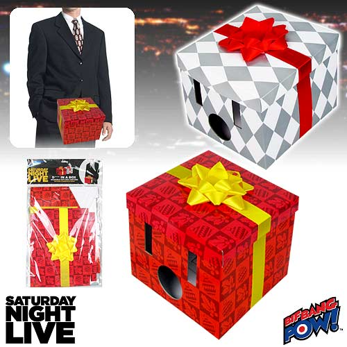 118cc60a Saturday Night Live Dick in a Box Wearable Gift Box Costume Set of 2 ...