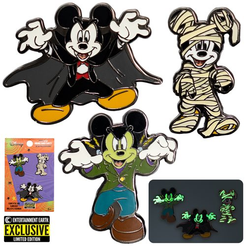 Mickey Mouse Halloween Mickeys Pin Set of 3 - EE Excl.