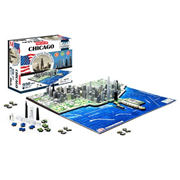 Chicago USA 4D Puzzle