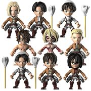 Attack on Titan 3-Inch Series 1  Mini-Figure 4-Pack