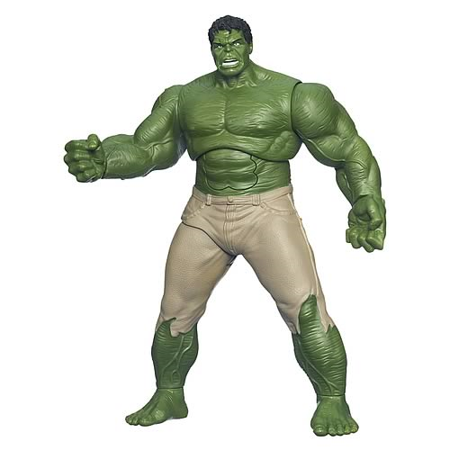 Avengers Movie Gamma Strike Incredible Hulk Action Figure