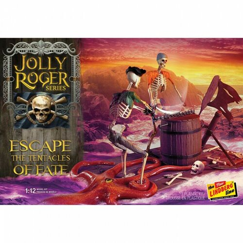 Jolly Roger Series: Escape the Tentacles of Fate 2T 1:12 Scale Model Kit