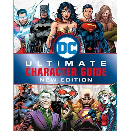 DC Comics Ultimate Character Guide New Edition Hardcover Book
