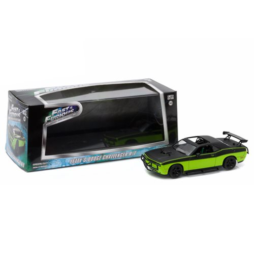 Fast and Furious 6 Movie Custom 1969 Dodge Charger Daytona Primer Gray with Black 1:43 Scale Die-Cast Metal Vehicle