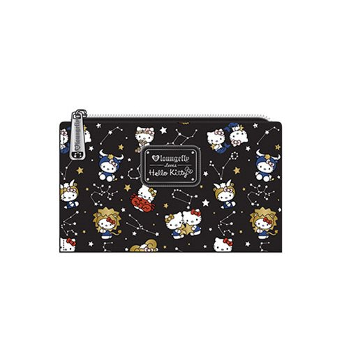 Hello Kitty Zodiac Print Bifold Wallet