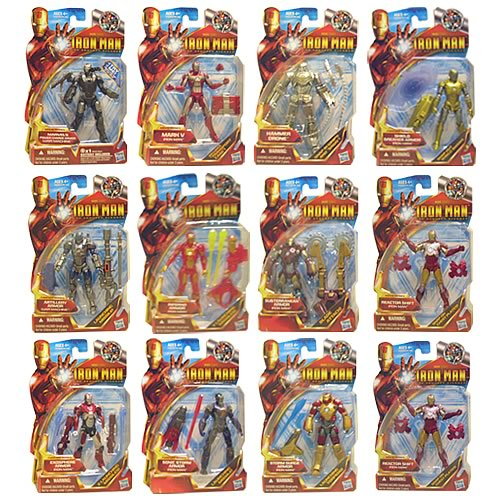 Iron Man 2 Movie Action Figures Wave 7