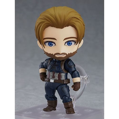 Avengers: Infinity War Captain America Deluxe Version Nendoroid Action Figure