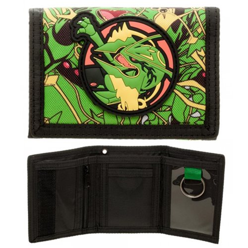 Pokemon Rayquaza Velcro Wallet
