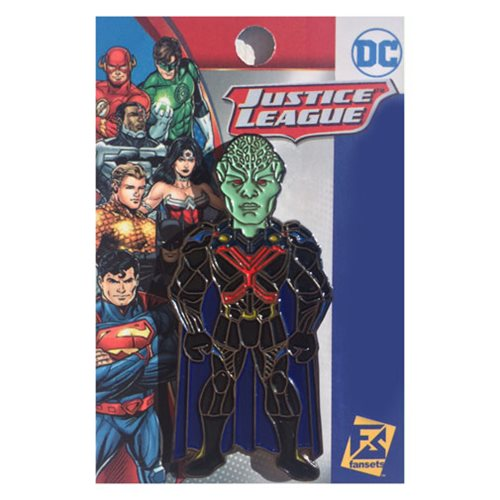 Supergirl TV Series Martian Manhunter Pin