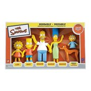 Simpsons Family Bendable Figures
