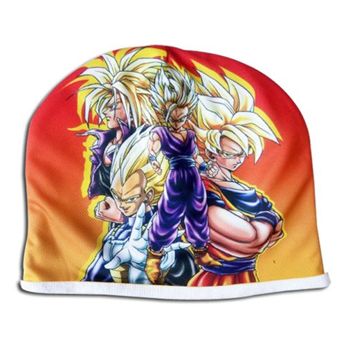 Dragon Ball Z Super Saiyans Fleece Beanie Hat
