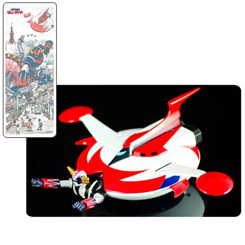 UFO Robo Grendizer 20th Anniversary Anime Edition Action Figure with Spacer