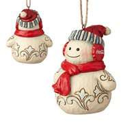 Coca-Cola Snowman Ornament by Jim Shore