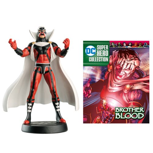 DC Superhero Best Of Brother Blood Figure with Collector Magazine #45