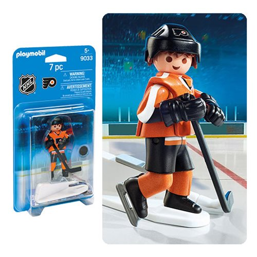 Playmobil 9033 NHL Philadelphia Flyers Player Action Figure