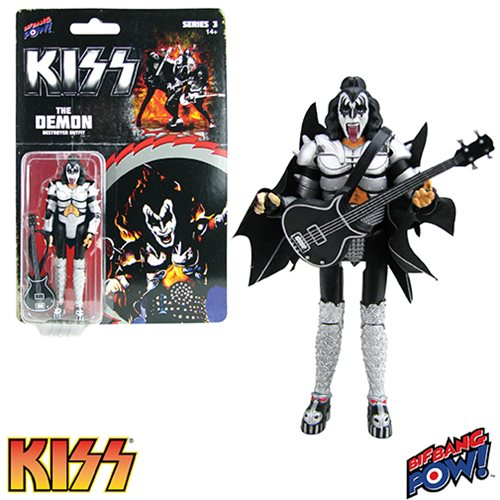 KISS Destroyer The Demon 3 3/4-Inch Action Figure