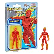 Marvel Legends Retro 375 Collection Fantastic 4 Human Torch 3 3/4-Inch Action Figure
