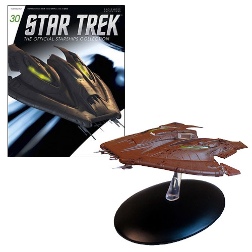 Star Trek Starships Nausicaan Fighter with Collector Magazine