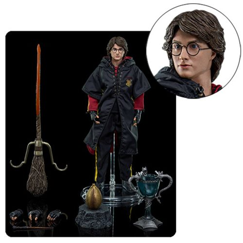 Harry Potter and the Goblet of Fire Triwizard Tournament Harry 1:8 Scale Action Figure, Not Mint
