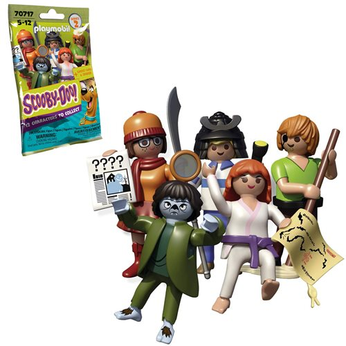 Playmobil 70717 Scooby-Doo Mystery Figures Series 2 Case
