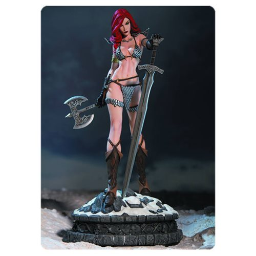 Women of Dynamite Red Sonja Diamond Eye Edition Statue