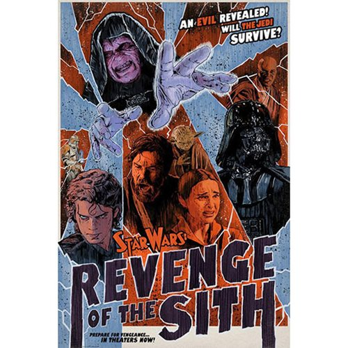Star Wars An Evil Revealed by J.J. Lendl Lithograph Art Print