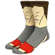 Beavis and Butt-Head - Butt- Head Character Crew Socks