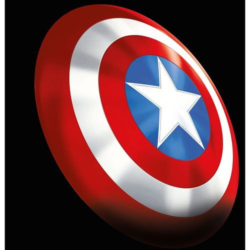 Marvel Legends Gear Classic Comic Captain America Shield Prop Replica - Exclusive