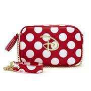 Disney Red-and-White Polka-Dot Crossbody Purse